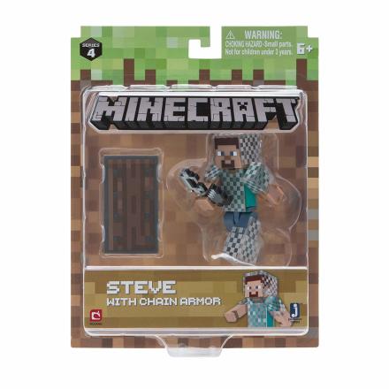 Minecraft Steve in Chain Armour - CDON.COM