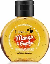 I Love Cosmetics Cleansing Hand Gel Mango & Papaya 65 ml