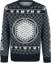 Bring Me The Horizon - Holiday Sweater 2019 -Julegensere - flerfarget