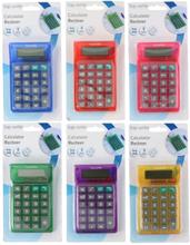 Calculator 8 digit ass kleur