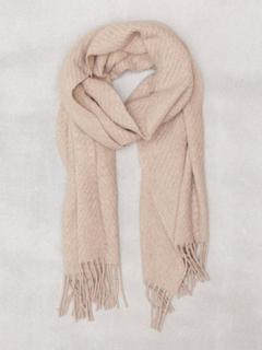 Lauren Ralph Lauren Cashmere Staple Wrap Halsdukar & Scarves Oatmeal