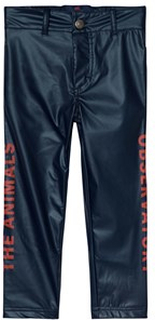 The Animals Observatory Crow Pants Navy Blue Red The Animals 8 år