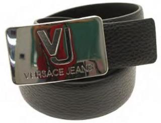 Versace Jeans - varumärke spänne bälte - loop metall