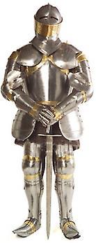 Ridder i skinnende rustning - Lifesize pap påklædningsdukke / Standee