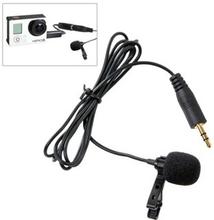 Mikrofon med Clips og 3,5 mm Adapter til GoPro HERO 3+ / 3