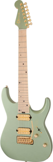 Charvel Angel Vivaldi DK24-7 NOVA 7-strengetel-guitar satin sage green
