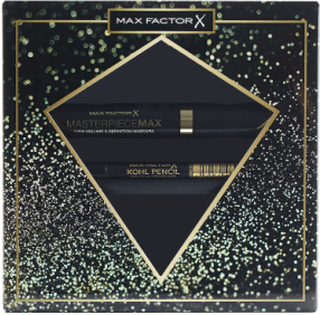 Masterpiece Max Mascaramp Max Mascara Black/Kohl Black Makeupsæt Makeup Max Factor