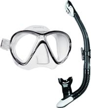 Mares Mask & Snorkelset (X-Vu LiquidSkin + Ergo Dry)