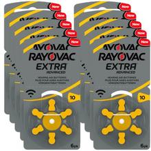 RAYOVAC Rayovac Extra Advanced ACT 10 gul 10-pack 4561-1-10 Replace: N/ARAYOVAC Rayovac Extra Advanced ACT 10 gul 10-pack