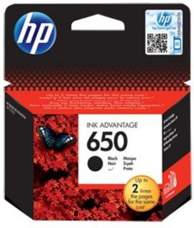 HP HP Original Blekkpatron sort (HP 650) 360 sider