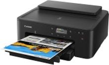Canon PIXMA TS705 - Printer - farve - Duplex - blækprinter - A4/Legal - op til 15 ipm (mono) / op til 10 ipm (farve) - kapacitet: 350 ark - USB 2.0,