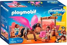 Playmobil The Movie 70074 Marla Og Del Med Hest Med Vinger