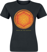 Bring Me The Horizon - Pizza -T-skjorte - svart