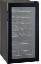Qlima Vinkyl 85 W svart FWK1628