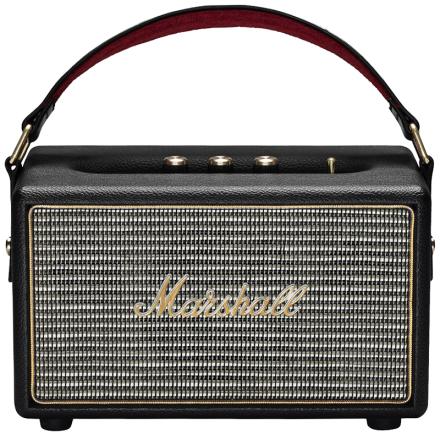 Marshall KilburnBlack batteridrevet hi-fi høyttaler sort