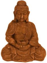 Gilbert Gilbert Buddha sittande rostfärgad 42 cm