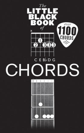 The Little Black Book Of Chords akkord-bok
