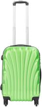 Kabinekuffert - Grøn hardcase kuffert - Eksklusiv rejsekuffert