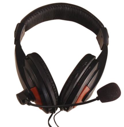 Record HM-42 stereo-hodetelefoner/hodebøylemikrofon