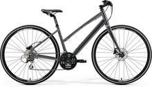 """Merida Crossway Urban 20-D Dam Cykel Grå, 28"""", Skivbroms, 24 växlar, 14,9 kg"""