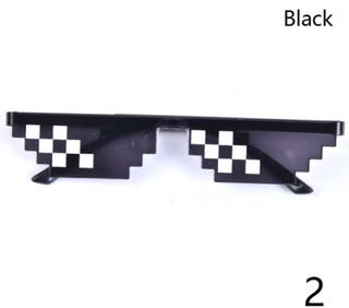 Thug Life Attitude Solglasögon 8 Bit Pixel Deal Med It Unisex G