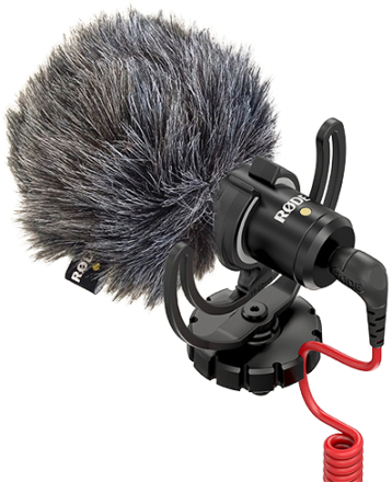 Røde VideoMicro kamera-mikrofon sort