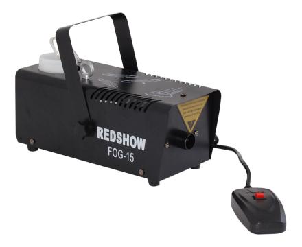 Redshow FOG-15 røykmaskin