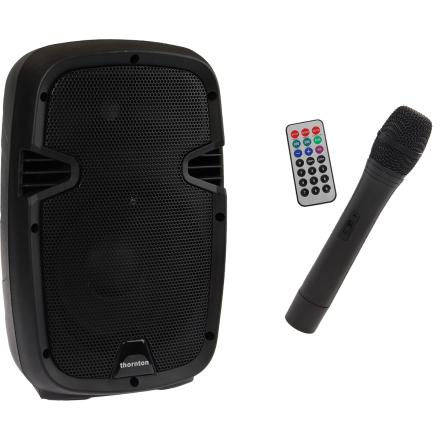 Thornton EBN8W transportabelt anlegg m/ trådløs mikrofon