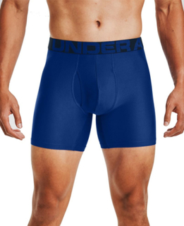 Under Armour Tech 6in 2 Pack - Boxershorts - Royal - SM
