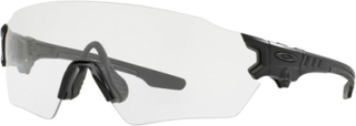 Oakley Industrial Tombstone Spoil Matte Black - Taktiske briller - Clear