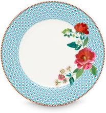 Tallrik 26,5 cm Rose blue