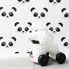 Fabulous World Tapet Panda vit 67100