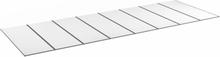 Halle Kanalplasttak Komplett Isolux 16mm Opal-8612-3500