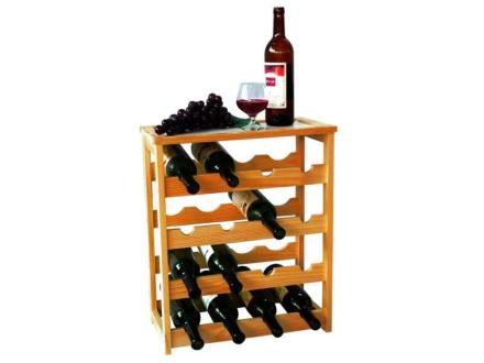 MK Bamboo Geneve-vinställ för 24 flaskor
