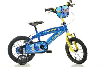 Finne Dory barna sykkel - blå - 16 Inches barnas sykkel - Dino sykler