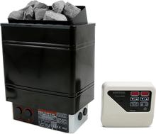 Bastuaggregat 9kW - Utvändig kontrollpanel