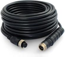 Kabel 15 m 4-pin video stik AVI