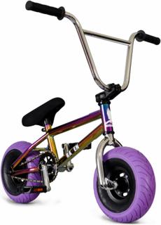 Mini BMX - Oilslick Pro Rainbow/Purple