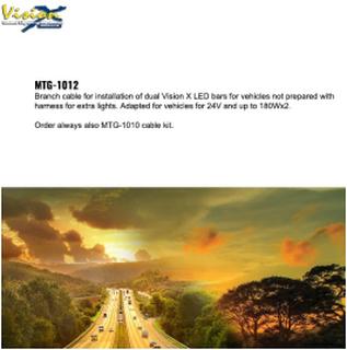 MTG-1012 Kabel kit