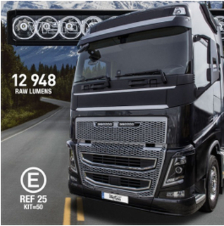 LED Fjernlys Volvo FH4/FH16. 120W -Grill.