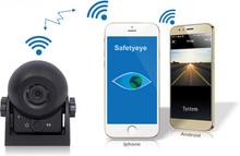 Bakkamera Trådløs til bil for Smartphones. Med indbygget batteri.