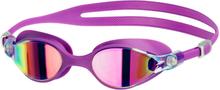 speedo Virtue Mirror Svømmebriller Damer, purple vibe/pink 2019 Svømmebriller