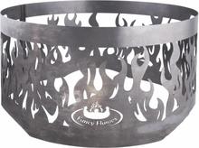 Esschert Design ildring til bålfad grå stål FF415