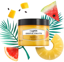 Exotic Fruits, Scented Body Butter 300 ml I love… Kroppslotion