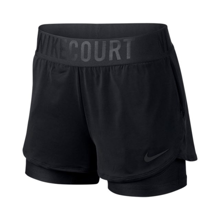 Nike Dri-Fit Ace Shorts Women Black (with pockets) S