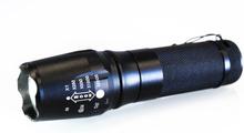 Kraftig LED ficklampa med Zoom 1200 Lumen