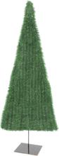 Christmas Tree, flat, light green, 120cm