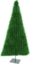 Christmas Tree, artificial, flat dark green, 150cm