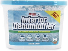 Mighty Burst Interior Dehumidifier Fresh Linen 240 g