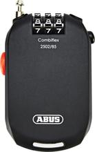 ABUS Combiflex Pro 2502 Rolling Cable Lock Tydliga siffror black 2020 Kombinationslås
